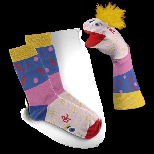 Sara puppetsokken